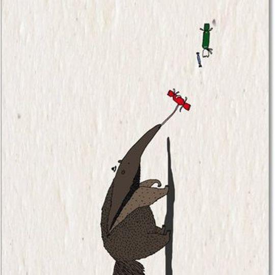 Christmas Card | Christmas Anteater