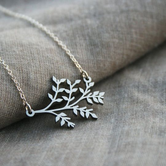 Botany necklace