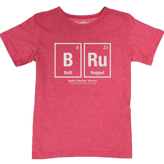 'Built Rugged' Toddlers Tee