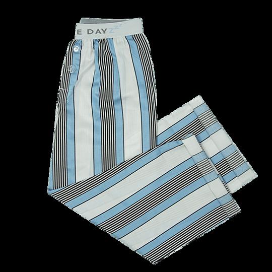 Boys Long Pants White Stripe