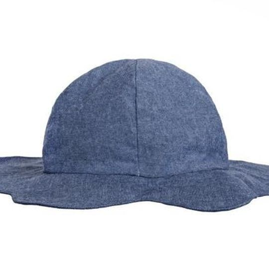 Hat / Girls - Denim Petal - M0341