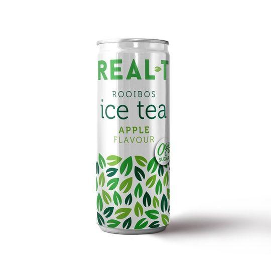 Real - T Premium Rooibos Ice Tea - Apple