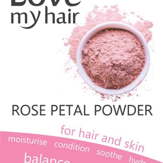 Love My Hair Rose Petal Powder