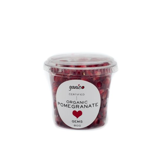 Organic Pomegranate Gems (80g)