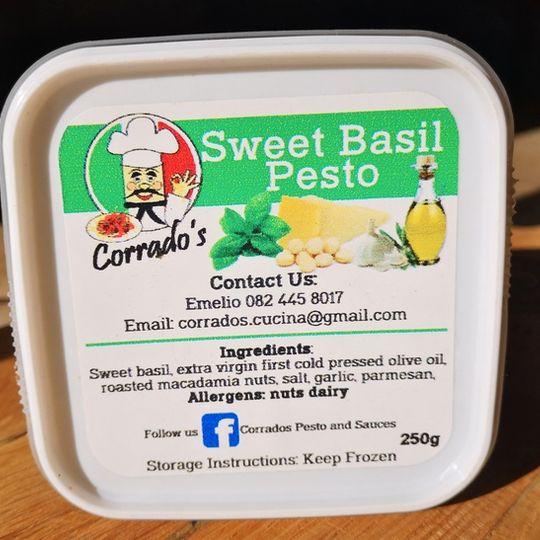 Corrado's Pesto & Sauces Sweet Basil Pesto (250g)