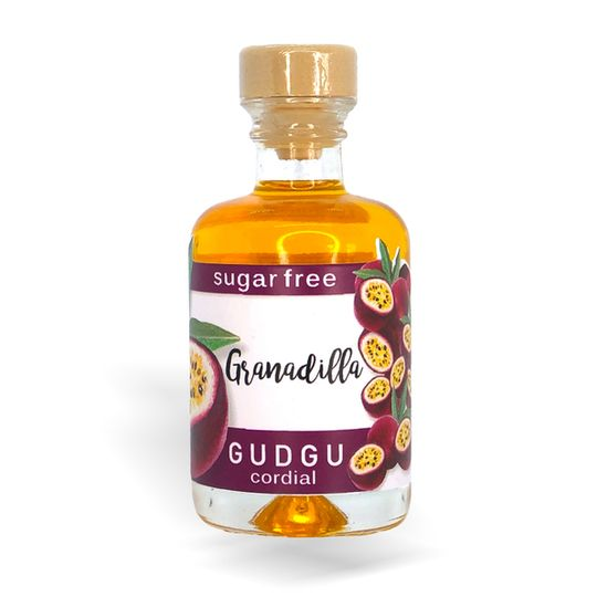 GUDGU SugarFREE Granadilla Mini Cordial 50ml