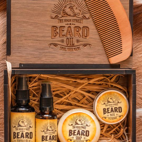 CONNOISSEUR'S BEARD BOX