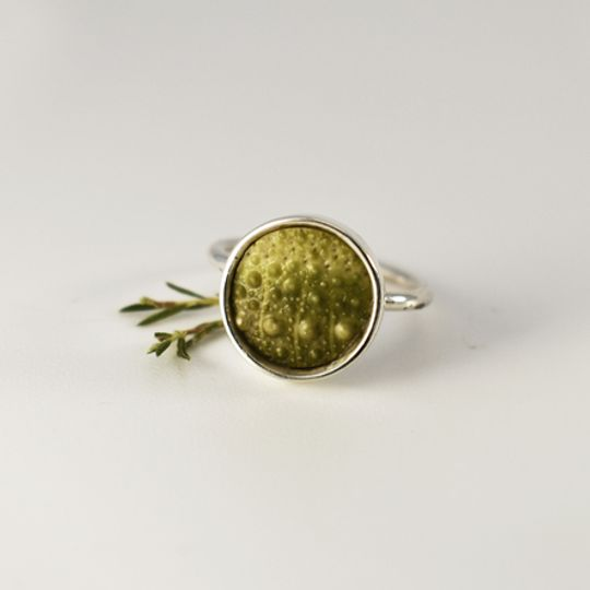 Green Sea Urchin Ring