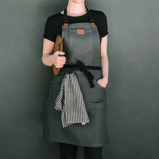 LUUKS Signature Hemp Canvas Apron