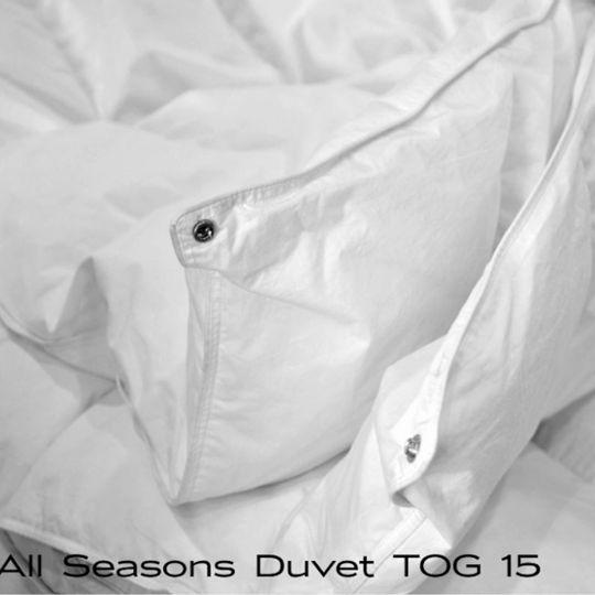Top Quality Duck Down All Seasons Clip-on Down Duvet