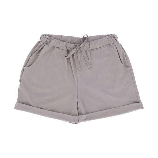 Short Pants - Turn-up Grey