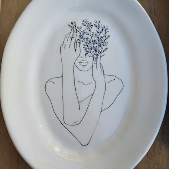 Large Oval Platters