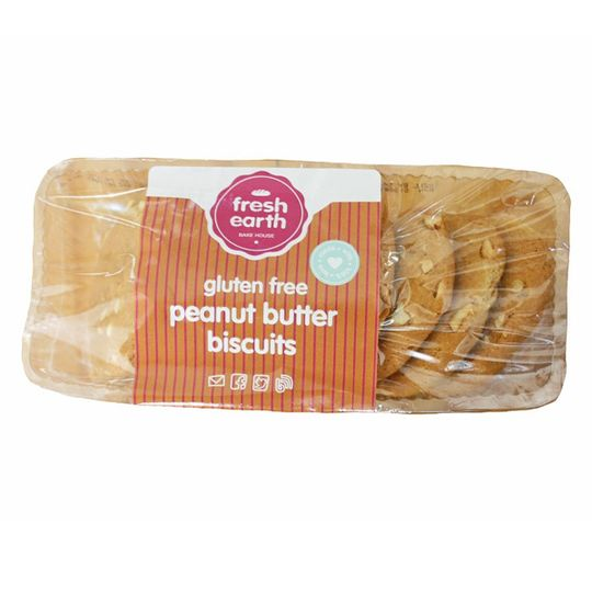 Fresh Earth Peanut Butter Biscuit