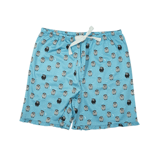 Girls Short Pants - Frill Sheep