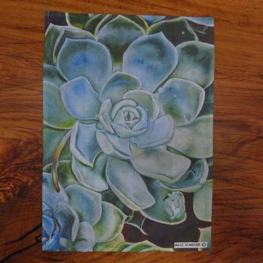 Tea Towel - Echiveria plumidonis