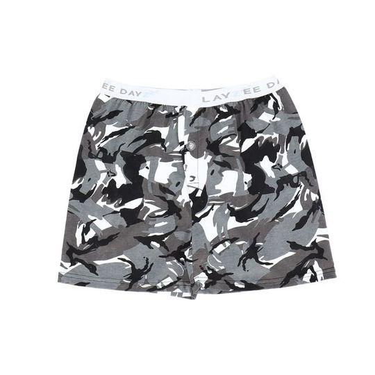 Boys Short Pants (Boxers Shorts) Camo (Cotton Knit)