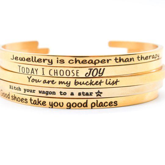Gold Stainless Steel Bracelet