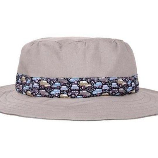 Hat / Boys - Khaki and Cars - M0325