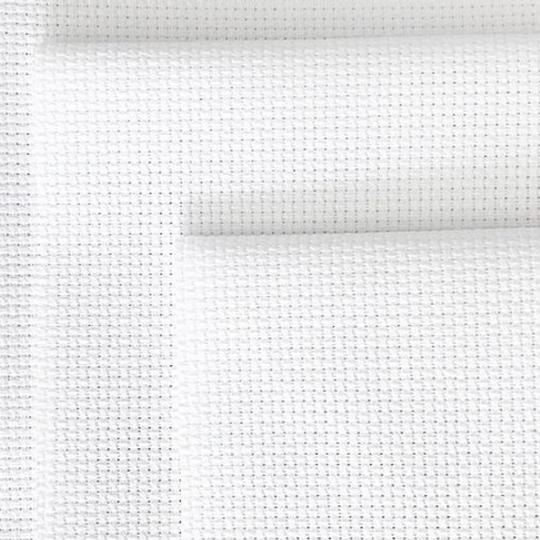 Zweigart Tula: 10 Count, White