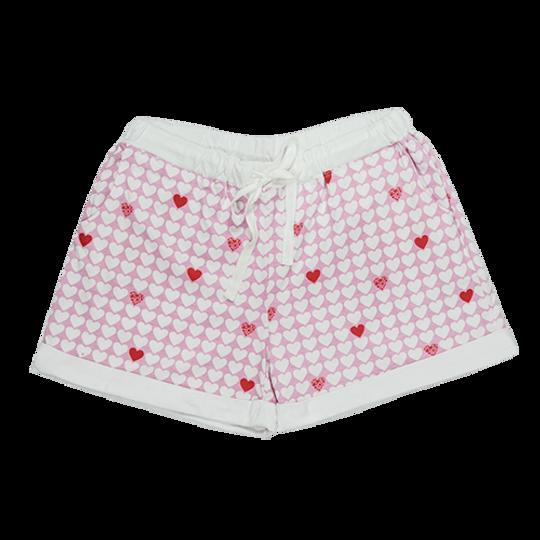Short Pants - Turn-up Hearts