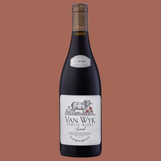 Van Wyk Family Wines Syrah (6x750ml)