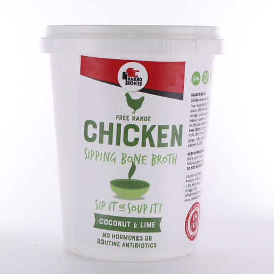 Chicken Coconut & Lime Sipping Bone Broth (500ml)