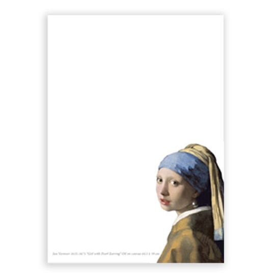 A6 Notebook - Girl with pearl earring