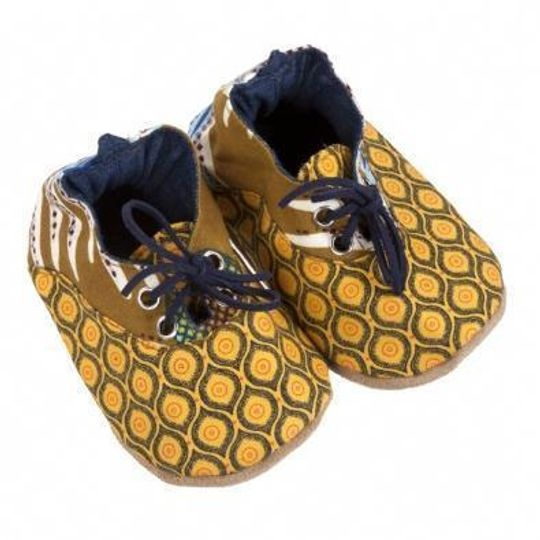 Takkie / Boys - Yellow and Blue - M0309