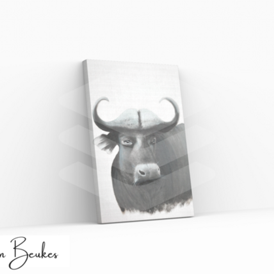 African Buffalo | Original Prints on Canvas