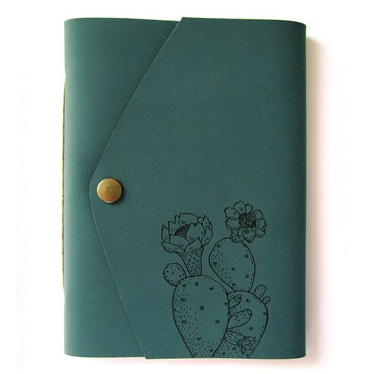 Travel Journal (A6 size) - Prickly Pear