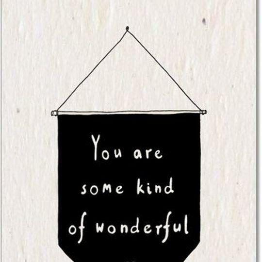Greeting Card | Wonderful