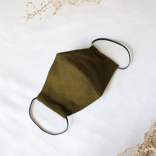 Olive Mask with Pocket