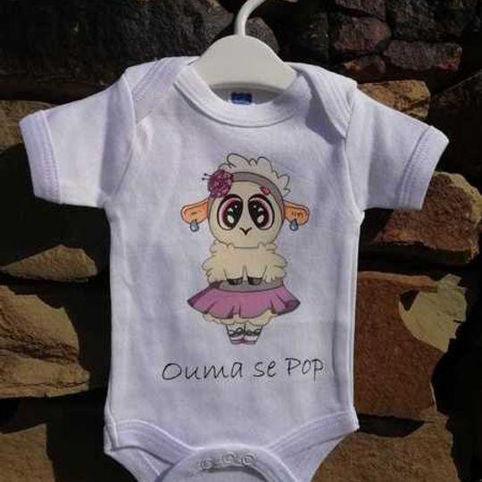 BABY Vest- Ouma se Pop