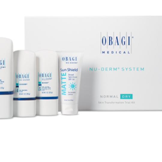 Obagi Nu-Derm Fx Transformation Trial Kit Normal-Dry