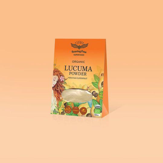 SOARING FREE SUPERFOODS Organic Lucuma Powder - 200g