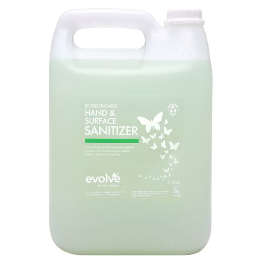 Evolve Hand & Surface Sanitizer 5L Refill