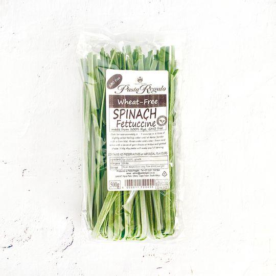 Pasta Regalo Wheat-Free Spinach Fettuccine pasta (500g)