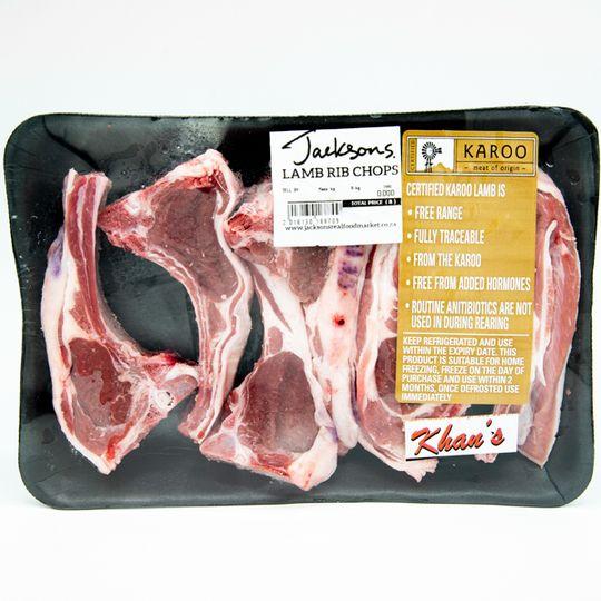 Lamb Rib Chops - Karoo Of Origin (550g)