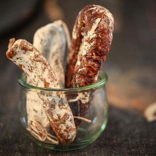 Salami Selection - 1 saucisson sec, 1 truffle salami and 1 diablo chorizo