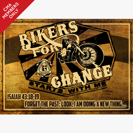 Bikers for Change Banner