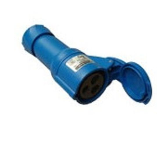 R0000711 - PLUG FEMALE 220V CEE R522 BLUE