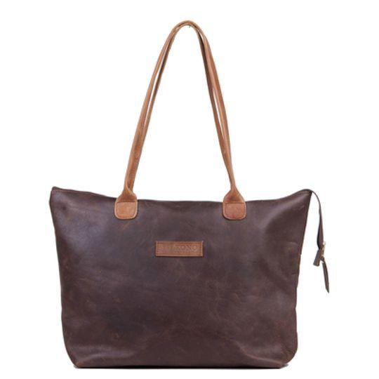 The Azania leather tote bag