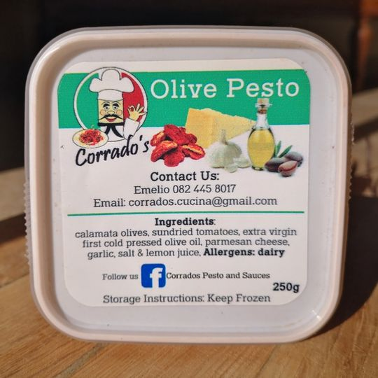 Corrado's Pesto & Sauces Olive Pesto (250g)