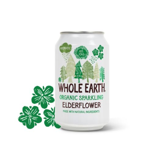 Whole Earth Organic Elderflower Drink (330ml)