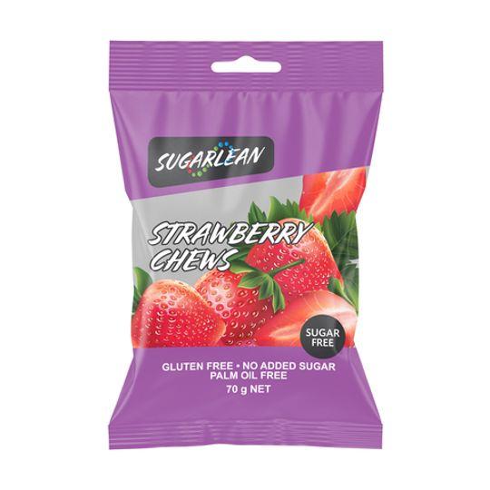 Sugarlean Strawberry Chews (70 g)