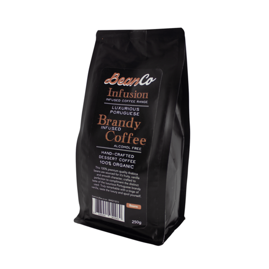 BeanCo Brandy Infused Coffee Beans (250g)