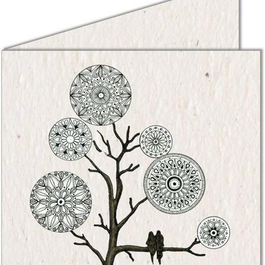 Greeting Card | Mandala Tree