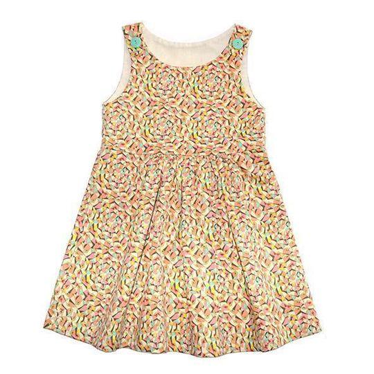 Dress / Girls - Popsicle Pinafore - M0361