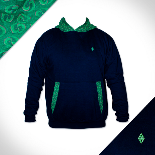 Hooded Chameleon - Navy