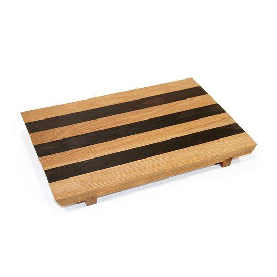 Zebra Platter Small